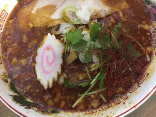 「辛☆辛ビークラーメン」味噌