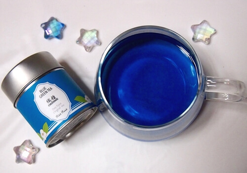 青い緑茶がフォトジェニック!オリジナルフレーバーティー専門店「プティポアン」【酒田】